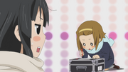 Mio and Ritsu Live House