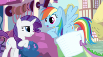 Rarity you&#39;re sure Rainbow Dash S3E11