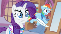 Rarity &amp; Rainbow Dash uh oh S3E11