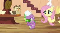 Fluttershy and Spike &quot;does this mean you&#39;ll do it?&quot; S03E11