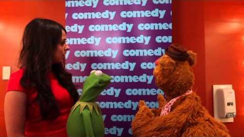 Kermit the Frog and Fozzie Bear First Just For Laughs
