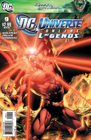 Cover for DC Universe Online Legends #{{{Issue}}}