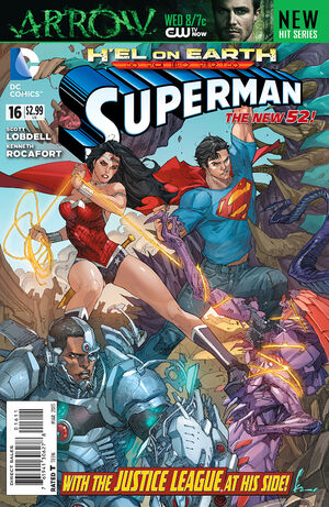 Cover for Superman #16