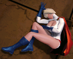 Power Girl defeated