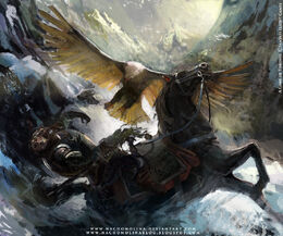Orell el Águila by Nacho Molina, Fantasy Flight Games©