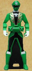 Gokai Green Ranger Key