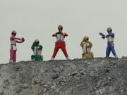 Dairanger (Super Sentai World)