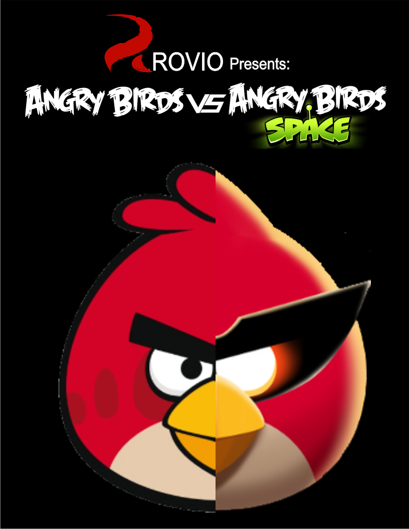 Angry birds vs angry birds space angry birds fanon wiki - Angry birds space gratuit ...