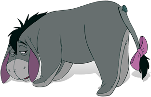 Eeyore transparent