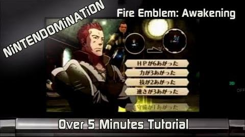 Fire Emblem Awakening - New over 5 Minutes Tutorial Trailer ファイアーエムブレム覚醒