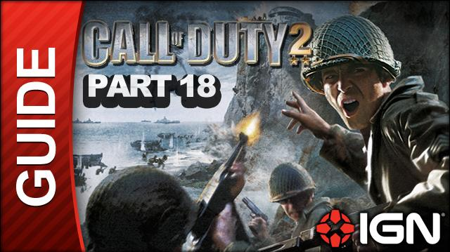 Call of Duty 2 Walkthrough Part 18 - The Crossroads - British Campaign