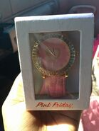 Pink friday watch