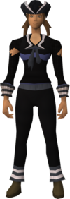 Naval set (black) equipped