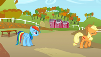 Applejack walks away S1E13