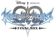 Kingdom Hearts Birth by Sleep Final Mix Logo KHBBSFM