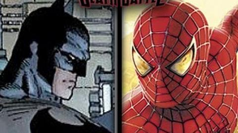 DEATH BATTLE - Batman VS Spider-Man