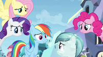 Rainbow Dash making things worse S3E12