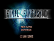 FFIX Title Screen