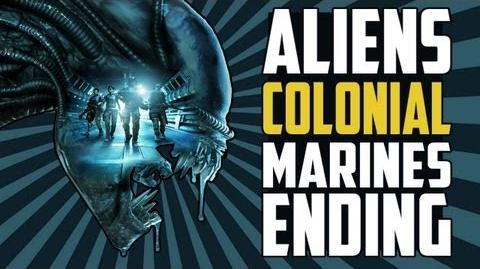 Aliens Colonial Marines - Final Boss, Ending, Credits HD