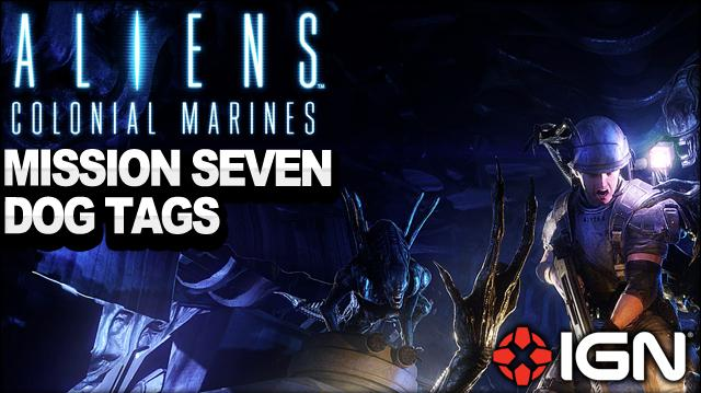 Aliens Colonial Marines - Mission 7 Dog Tags - One Bullet - Walkthrough