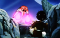 Vegeta&#39;s Respect - Kid Buu attacks Mr. Satan
