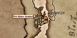 Five Riders Stables MapLocation