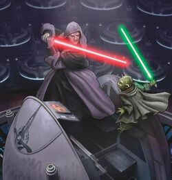 Sidious vs Yoda