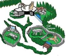 Cat Canyon and nh map