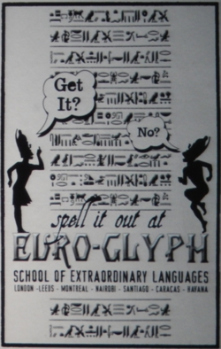 Euro-Glyph School of Extraordinary Languages