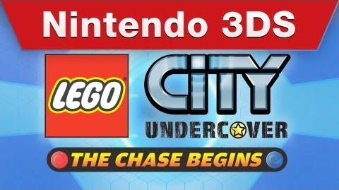 Nintendo 3DS - LEGO City Undercover The Chase Begins