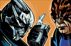 Sidonis betraying garrus