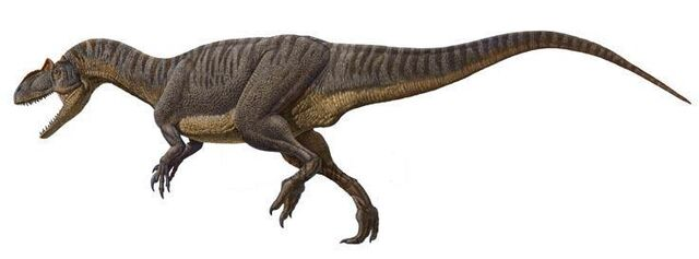 Image - Allosaurus raul martin.jpg - Dinopedia - the free ...