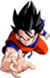 Render Dragon Ball z Goku