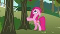 Pinkie Pie shaking a tree S03E13.png