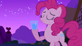Pinkie Pie preparing to do a spit take S3E13.png