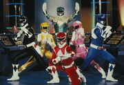 MMPR Rangers