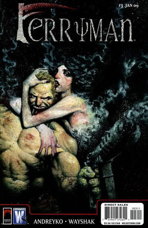 Cover for Ferryman #3