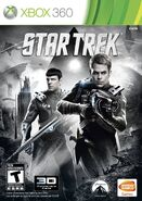 Star Trek video game Xbox 360 cover