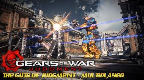 Gears of War Judgment - The Guts of Judgment - Multiplayer Trailer