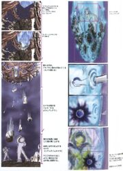Sephiroth Rising FFVII Storyboard