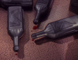 Klingon bloodwine bottles, The way of the warrior