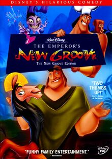 The Emperor&#39;s New Groove - The New Groove Edition - front cover