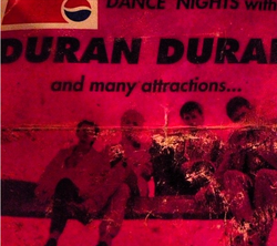 Pepsi Dance Nights 1, World Trade Centre, Istanbul , Turkey ticket stub duran duran wikipedia com