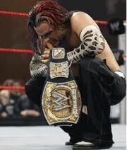 Jeff Hardy WEDF Champion