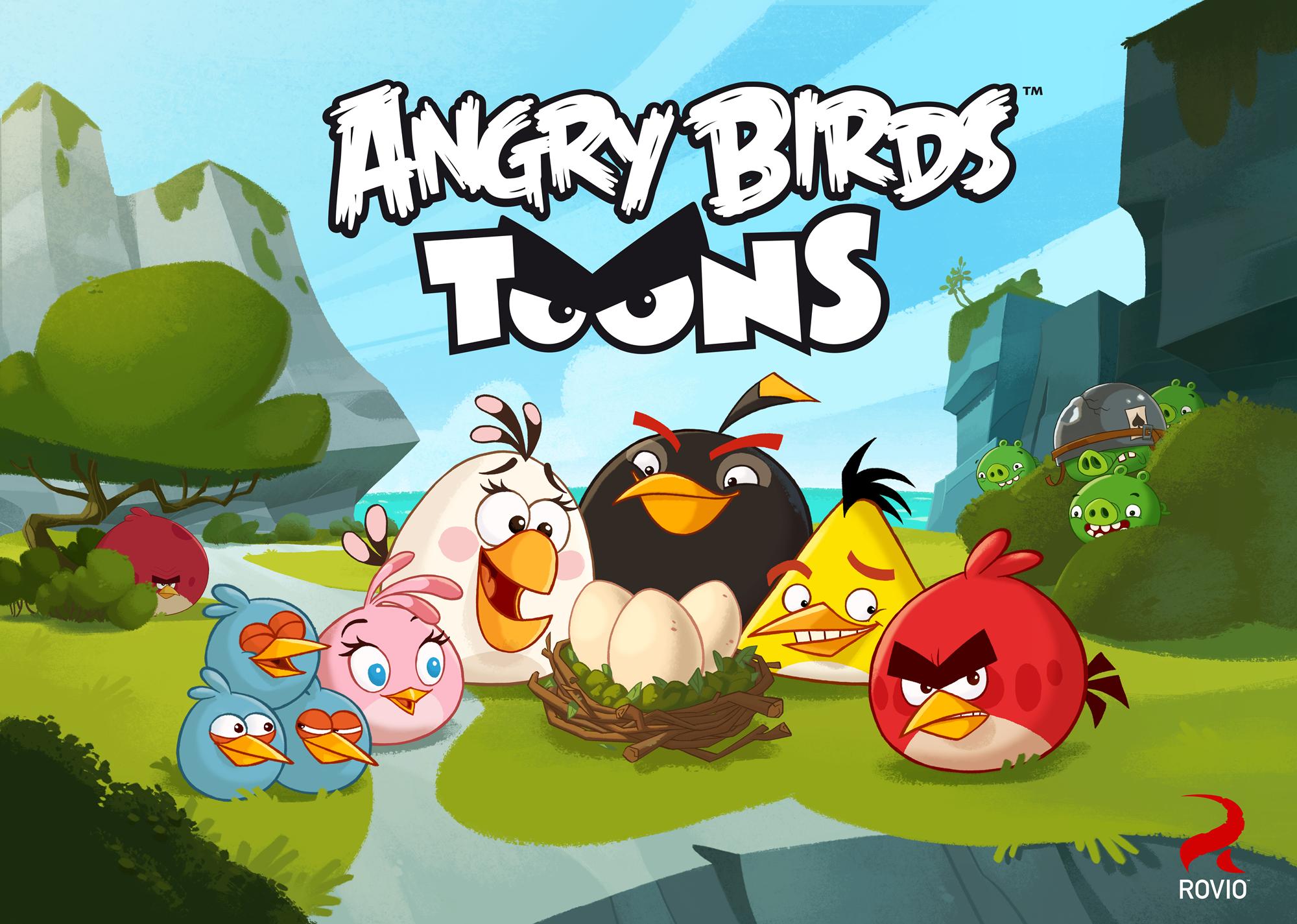 Llega la serie animada de los Angry Birds