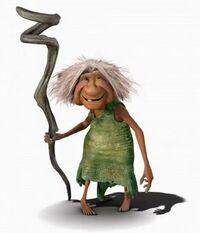 Gran - The Croods Wiki | 200 x 233 jpeg 7kB