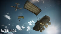 BF3 End Game Airdrop water