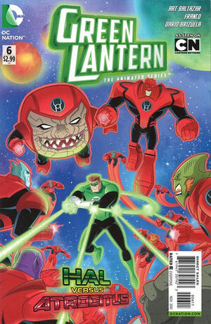 Cover for Green Lantern: The Animated Series #6