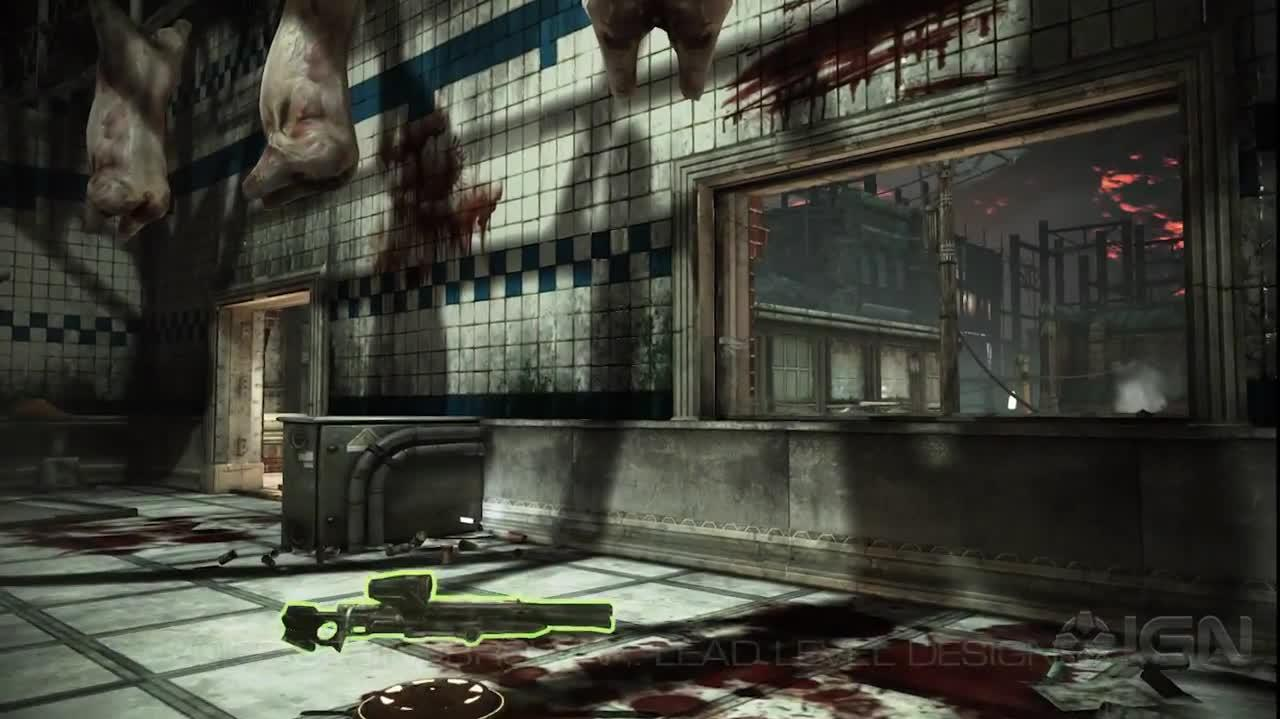 """Streets"" Map Tour Gears of War Judgment"