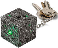 Underground Toys Borg Cube key ring
